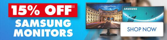 15% off Samsung monitors | The Good Guys