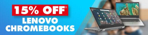15% off Lenovo Chromebooks | The Good Guys