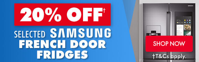 20% off Samsung French Door Fridges   The Good Guys