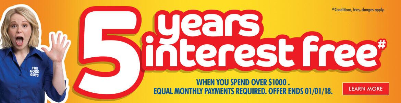 finance interest free