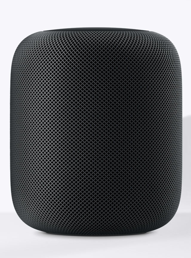 Apple HomePod is not just a speaker, but also an intelligent virtual assistant. Shop now at The Good Guys.