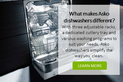 Asko Dishwashers at The Good Guys