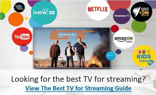 Find the best TV for streaming with The Good Guys Best TV for Streaming Guide.