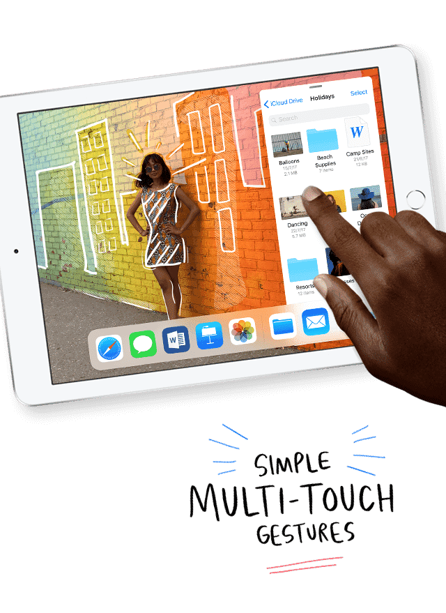 With Multiple-Touch capabilities, Apple iPads allow you to send messages, edit photos and play music by touching its amazing display. Shop now at The Good Guys.