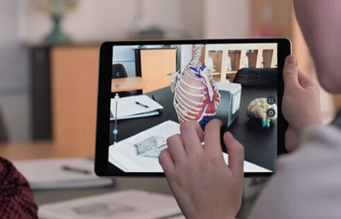 Use augmented reality (AR) apps and Apple iPads to enhance your learning experience. Shop now at The Good Guys.