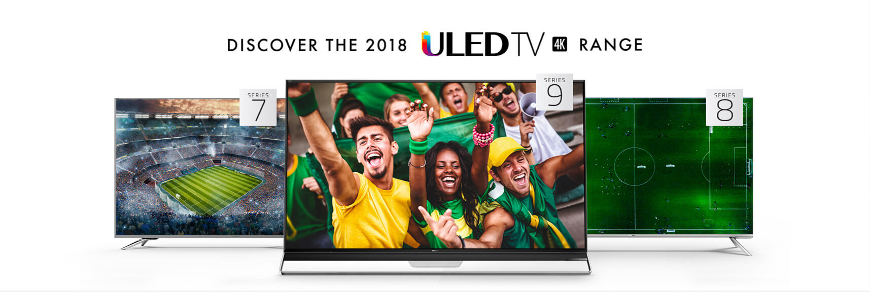 Shop the Hisense ULED 4K Smart TV range online and in store at The Good Guys.