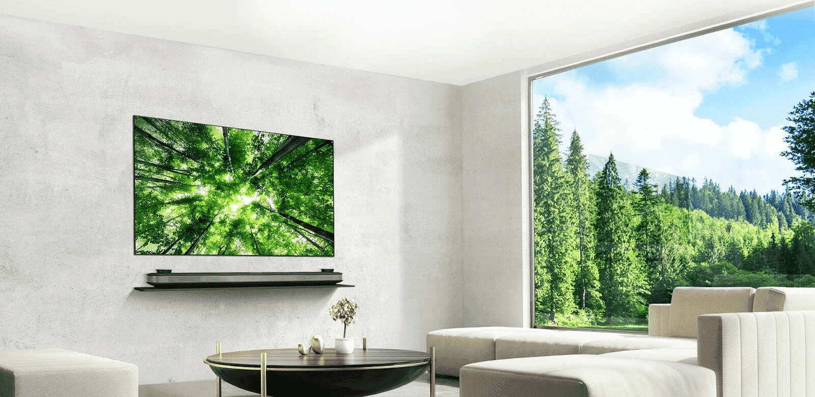 The new LG SIGNATURE Wallpaper TV combines OLED screen, powerful Dolby Atmos® sound and ...