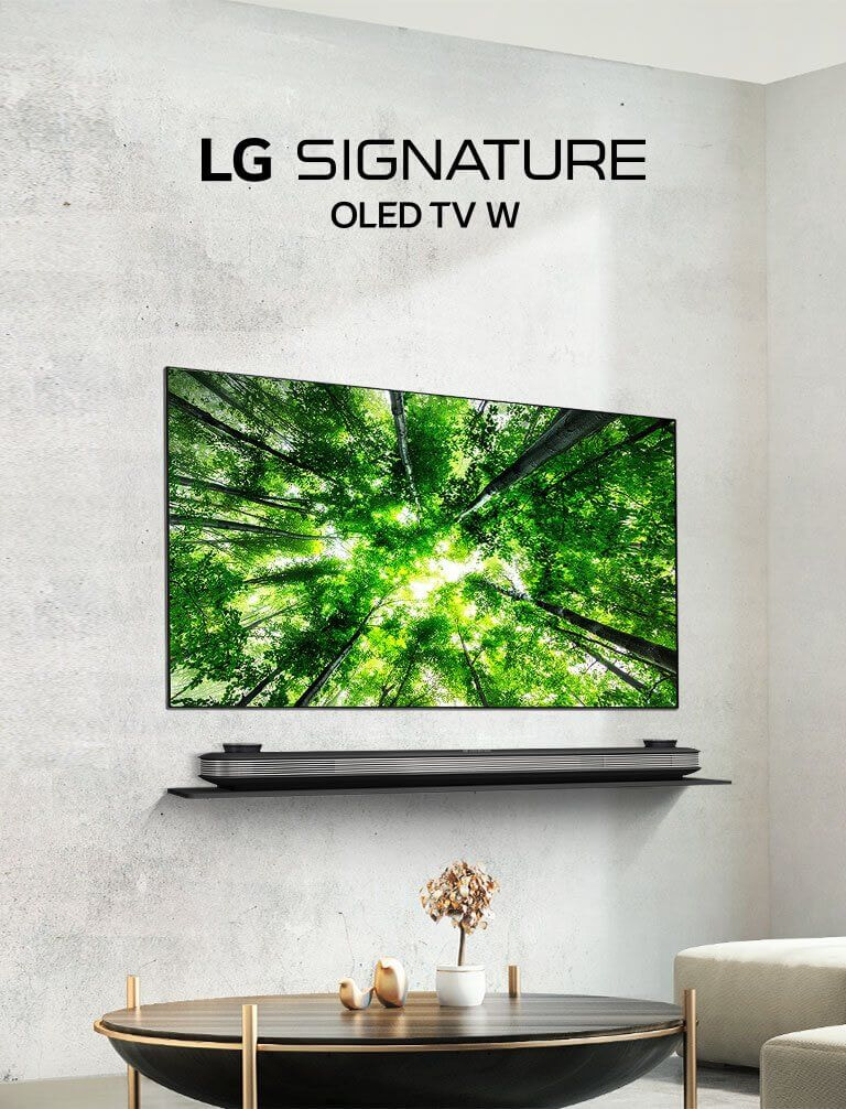 ... The new LG SIGNATURE Wallpaper TV combines OLED screen, powerful Dolby Atmos® sound and