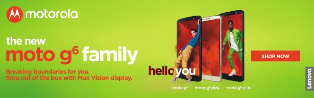 Motorola G6 Family | The Good Guys