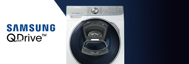 samsung quickdrive front load washer the good guys. Black Bedroom Furniture Sets. Home Design Ideas