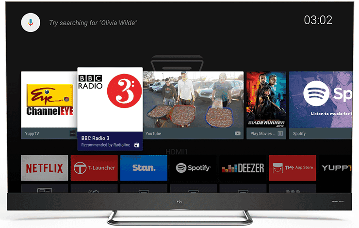 With Android TV Smart TV system, TCL QLED TV gives you access to unlimited video content. Shop now at The Good Guys.