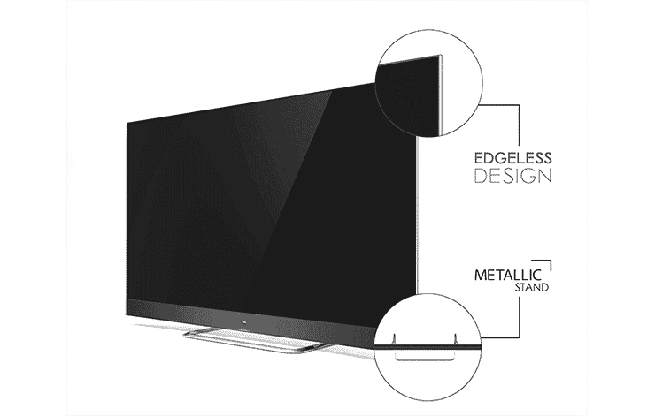 The sleek and stylish TCL QLED TV will add a touch of style to any room. Shop now at The Good Guys.