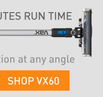 Vax stick vacuums give you a healthier, cleaner home. Available at The Good Guys.