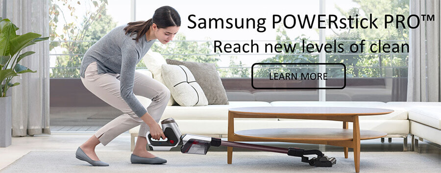 Reach new levels of clean with the Samsung POWERstick PRO