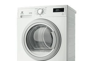 Enjoy crease-free drying with Electrolux clothes dryers. Available at The Good Guys.