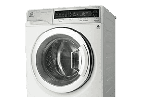 Electrolux washer dryer combo helps you save space. Available at The Good Guys.