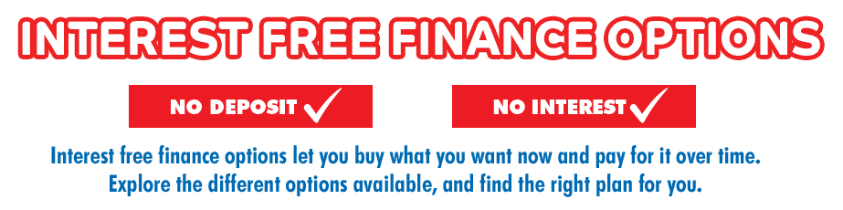 Interest Free & Flexible Finance Options | The Good Guys