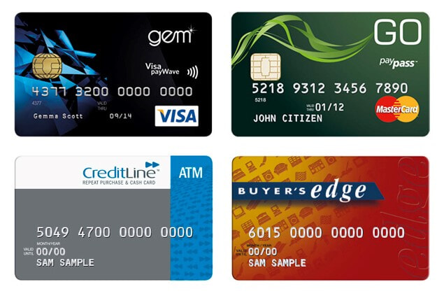 Finance card options