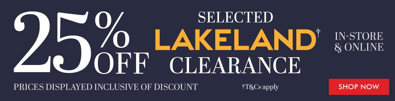 Lakeland Clearance