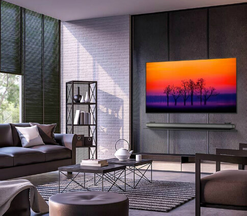 LG Wallpaper TVs | The Good Guys