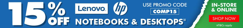 Lenovo & HP Sale at The Good Guys