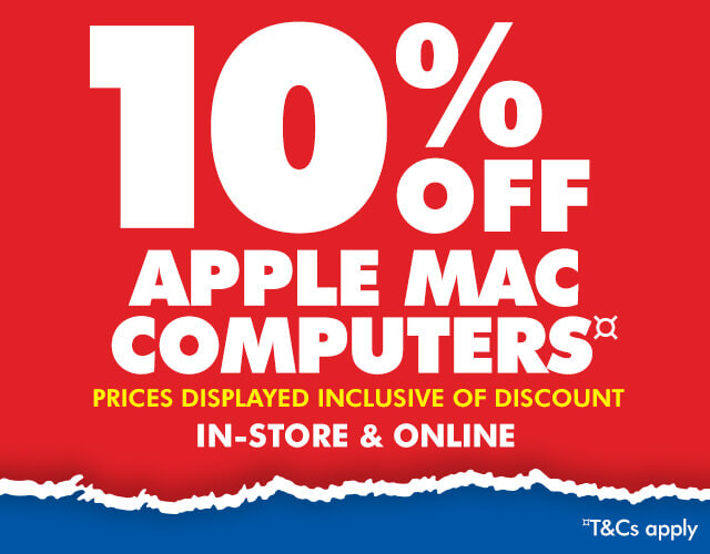 10% off Apple Mac Sale