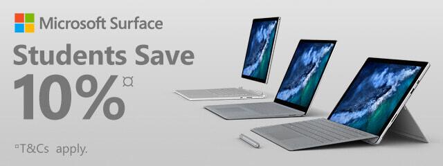 10% on Microsoft Surface! | The Good Guys