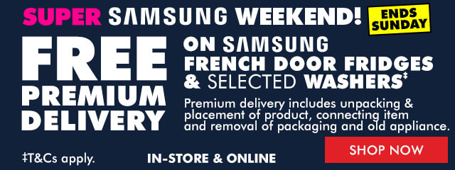Samsung Free Premium Delivery | The Good Guys