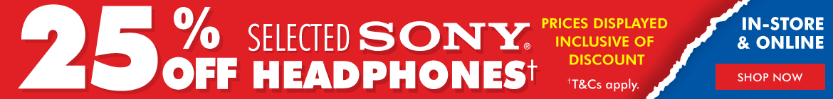 Sony Headphone Sale | The Good Guys