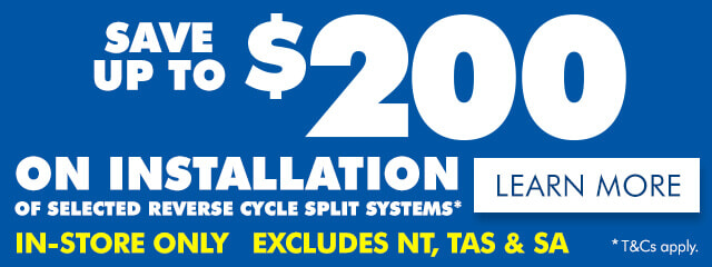 Save up to $200 on Installation   The Good Guys