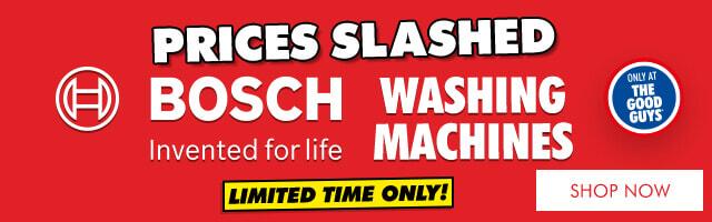Bosch Washing Sale   The Good Guys