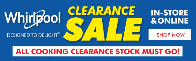 Whirlpool Clearance Sale | The Good Guys