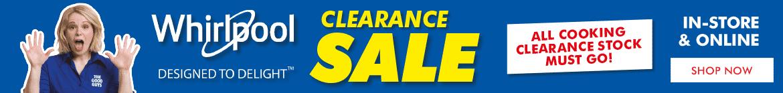 Whirlpool Clearance Sale | The Good Guys