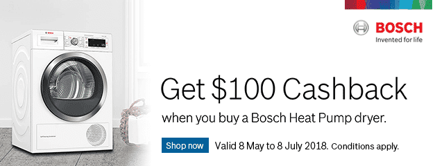 Bosch Dryer Promotion | The Good Guys