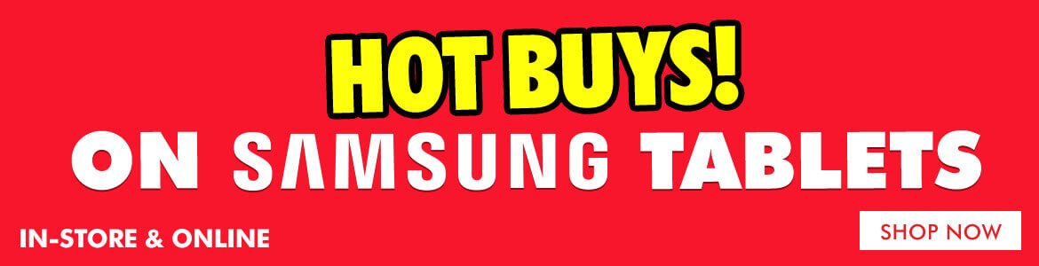 Hot Buys on Samsung Tablets   The Good Guys