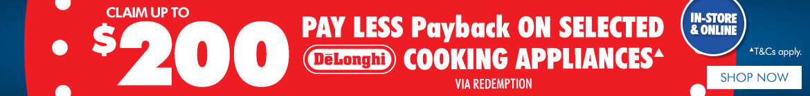 DeLonghi Payless Payback | The Good Guys