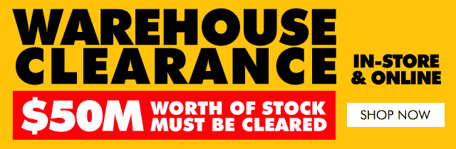 Warehouse Clearance | The Good Guys
