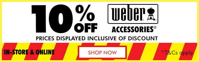 Weber Accessories Sale | The Good Guys