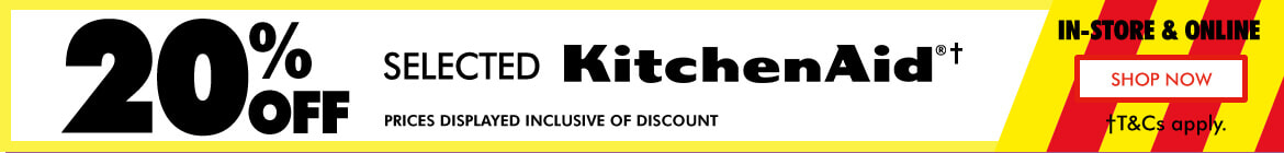 20% off Selected KitchenAid | The Good Guys