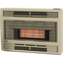 RinnaiSpectrum Console NG Beige Heater Flued10062614