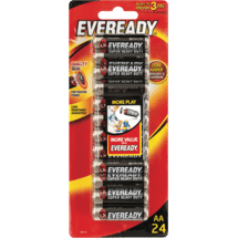EvereadySuper Heavy Duty AA Batteries 24 Pack10135059
