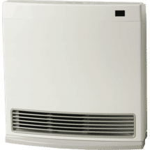 RinnaiDynamo 15 NG White Heater Unflued10151419