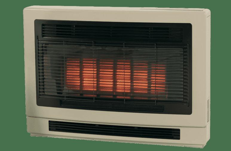 RinnaiUltima II Inbuilt NG Beige Heater Flued | Tuggl