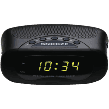 ccfdd9dfb1b Lenoxx Clock Radio AM FM ...