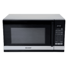 Sharp800W Black/Silver Compact Microwave50007853