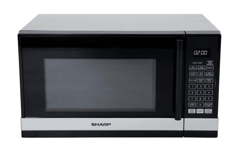 Sharp 800w Black Silver Compact Microwave R240ys
