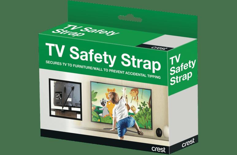 Crest Cs1f Flat Panel Tv Safety Strap