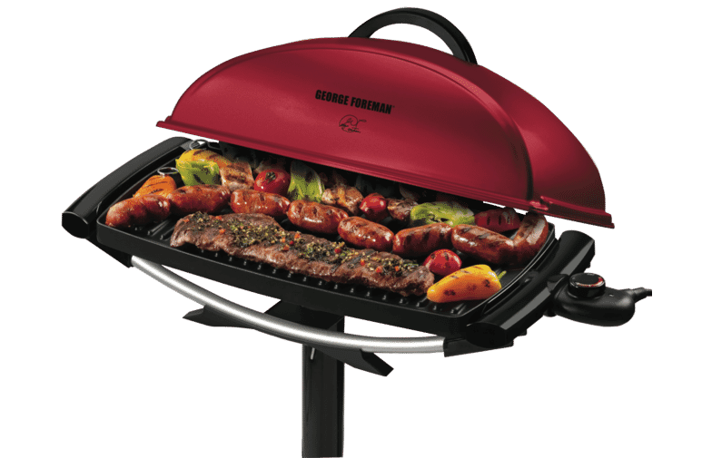 George Foreman GGR201RAU Indoor/Outdoor BBQ Grill at The Good Guys