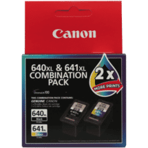 CanonPG640XL Black & CL641XL Colour Combo Pack50014388