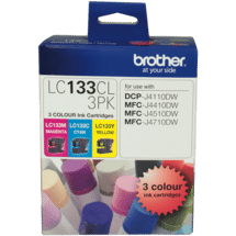 BrotherLC-133 Colour Ink Cartridge 3 Pack50015477